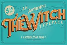 The Witch Typeface - Free Font of The Week from FontBundles.net