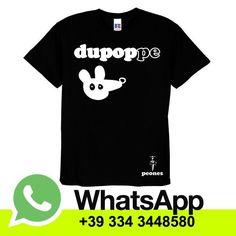 T-shirt in cotone manica corta  Black MEN/UNISEX & Lady Dupoppe