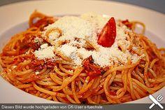 Knoblauch - Spaghetti mit Lauch und Tomate, ein raffiniertes Rezept aus der Kategorie Gemüse. Bewertungen: 181. Durchschnitt: Ø 4,2.
