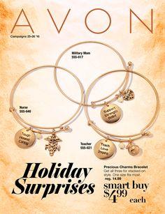 Campaign 25 Online Order Dates: 11-12/11-25 Shop online at www.youravon.com/awelshans #avon #campaign25 #outlet #mark #avonliving #Christmas https://www.avon.com/brochure