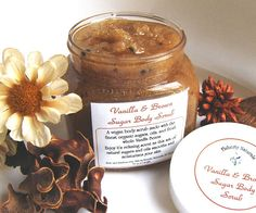 Just ordered some of this, can't wait to try it out.  Homemade Sugar Body Scrub Vanilla Brown Sugar by FlahertyNaturals