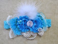 Frozen Elsa Sparkle Princess Headband - m2m dress,Elsa headband, girl headband, school,party headband