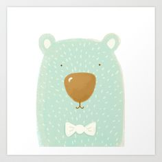 beary sweet Art Print by Sweet Reverie