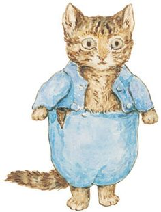 Resultado de imagen para beatrix potter cat
