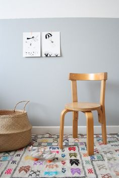 Kids chair / chaise Aalto  | LES PETITS BOHEMES