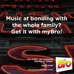 Makiuso sa mga bagets w/ myBro Plan 999 at just Get the latest na pwede niyong pag-bondingan ng buong pamilya! How To Apply, How To Get, How To Plan, Surfing, Internet, Surf, Surfs Up, Surfs