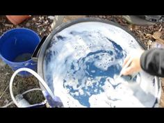 Making foam with Green Dragon for Air-Crete with Basalt Fibers Video 1 of 4 Basalt Fiber, Concrete Forms, Green Dragon, Hacks, Building, Ideas, Buildings, Thoughts, Construction