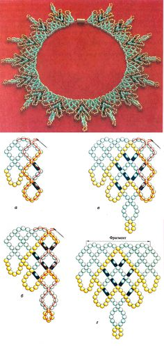 Free Necklace Pattern featured in Bead-Patterns.com Newsletter!
