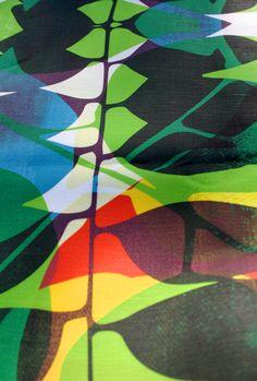Camino fabric detail // Allison Holdridge
