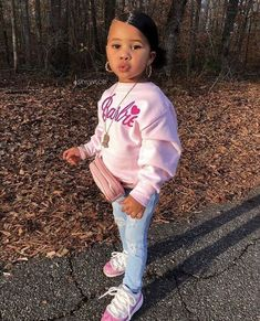 little girl outfits, toddler outfits, cute outfits for kids, baby outfits Cute Little Girls Outfits, Kids Outfits Girls, Toddler Girl Outfits, Toddler Swag, Little Girl Swag, Baby Outfits, Swag Kids, Toddler Toys, Fashion Kids