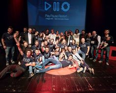 Saturday we played   Yesterday we took a pause. Today it's time to restart   Here is the final pic of #TEDxVicenza 2016 with the team and the speakers.  Thanks to all...it was amazing!  #PlayPauseRestart  #tedx #Vicenza #Italy  #ideasworthspreading  #technology #entertainment #design