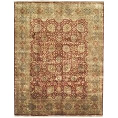 Shop for Safavieh Hand-knotted Ganges River Rust/ Gold Wool Rug (9' x 12'). Get free shipping at Overstock.com - Your Online Home Decor Outlet Store! Get 5% in rewards with Club O!
