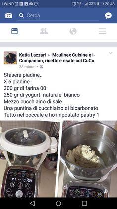Piadine yogurt