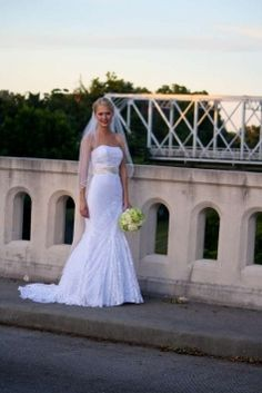 David's Bridal Wg3381 Wedding Dress $300