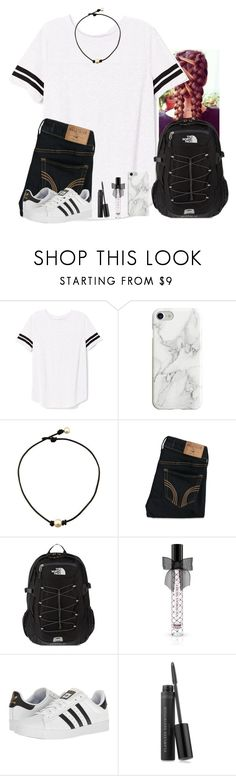 """""""I've been a restless soul."""" by kaye-376 ❤ liked on Polyvore featuring Victoria's Secret PINK, Recover, Hollister Co., The North Face, Victoria's Secret, adidas and Bare Escentuals"""