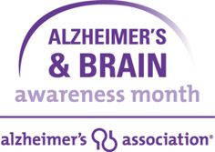 June is Alzheimer's & Brain Awareness Month #GoPurple #ENDALZ