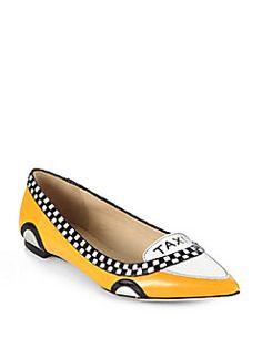 Kate Spade Taxi adorableness flats
