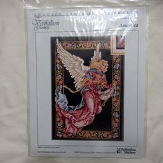 The Vermillion Stitchery Angelica Cross Stitch Chart CCS #208 Angel Behold…
