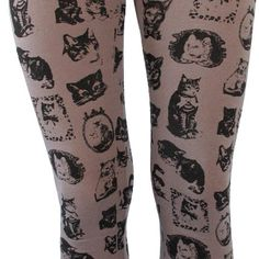 Kitty leggings @BreAnn Bailey.  OMG where have these been all my life??