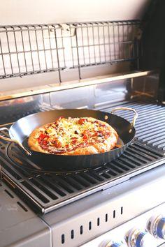 Pizza van de BBQ - Lekker en Simpel