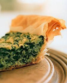 Spinach-Dill Pie Recipe