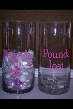 Visual weight loss...
