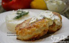 Котлеты из щуки с соусом | Кулинарные рецепты от «Едим дома!»