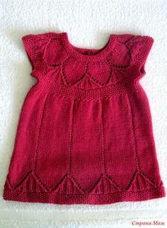 Девочки, предлагаю вам связать платьице одно на выбор, а может и оба сразу для своих маленьких модниц!