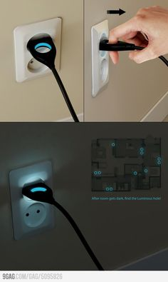 All wall plugs should be like this!