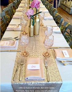 5 Sequin table runners. Choose from gold, rose gold, black, or silver. Beautiful for all themes! Fantastic for any wedding, event, or home decor. These beautiful sequin table runners shimmer with deli