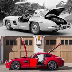 The Mercedes-Benz 300 SL stands out not just as one of the most memorable coupes of the 1950s, but of all time. Besides its iconic gullwing doors and tubular frame, the 300 SL is remarkable for the way it made driving so intimate. Similarly, the cockpit of the Mercedes-AMG GT S is uniquely designed to be all-embracing, just like its gull-winged ancestor.  #Mercedes #Benz #300SL #AMGGT #AMG #GT #Gullwing #Classic #AmeliaIsland #Concours #MBClassic #instacar #carsofinstagram #germancars…