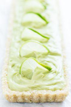 No-Bake Coconut Lime Tart | Get Inspired Everyday!
