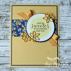 Layering Alphabet Edgelits Dies By Stampin Up Just