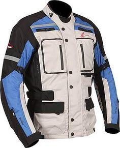 Motorcycle Jacket Rain Waterproof Armored Touring Adventure Men IXS MONTEVIDEO