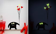 wall sticker (by Gecko Stickers) - sooooo cute....and only $17....to bad the shipping is $18