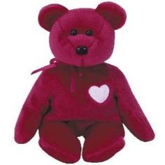 VALENTINA TY BEANIE BABY Valentine s Day BEAR MWMT New Kids Toys 6567f3b9f4cf