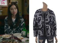 """Kim So-Eun 김소은 in """"Liar Game"""" Episode 3.  LAP AE4WZ868 Jacket #Kdrama #LiarGame 라이어 게임 #KimSoEun"""