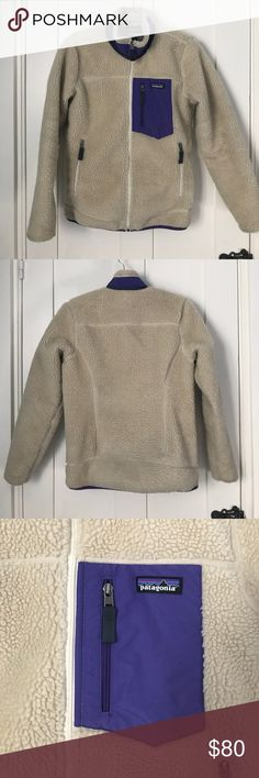 """Patagonia Classic Retro-X Fleece Jacket Patagonia Classic Retro-X Fleece Jacket """"natural"""" color. Worn three times. Very good condition. Patagonia Jackets & Coats Puffers"""