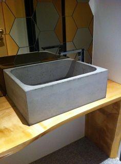 MOHA concrete sink Concrete Sink, Concrete Design, Home Decor, Decoration Home, Room Decor, Home Interior Design, Home Decoration, Interior Design