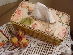 krabička papierové vreckovky