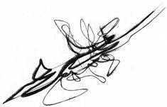 This is a sketch by zaha hadid. I did a project on her in architecture school. I would love to take this sketch and enlarge it and put it over my bed.