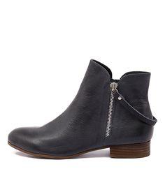 Fales light navy leather. Fales Lt Navy from Django & Juliette