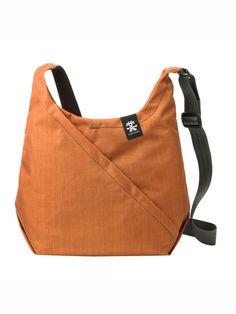 Die Crumpler Bag ist schön und praktisch zugleich!