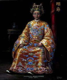MINH MẠNG - Chân Dung Các Vua Triều Nguyễn