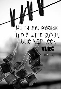 Hang jou drome in die wind Haruki Murakami, Afrikaanse Quotes, Inspirational Thoughts, Cute Quotes, Wise Words, Qoutes, Laughter, Sayings, Sad Poems