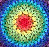 Granny Mandala...from Crochet with Raymond