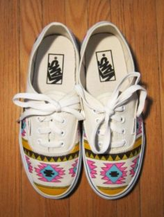 Aztec print Vans?  Yes please.