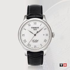 #Tissot Le Locle Automatic - as well as being the name of Tissot's home and heritage nestled in the Swiss Jura Mountains it is the name of a hugely popular automatic watch family. #MyTissot #ThisisyourTime #LeLocle #Automatic #Fashion #Lifestyle #TissotMoment #watch #Switzerland by tissot_official