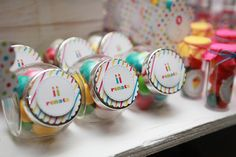#party #colors #tag #candy #festas #cores #papelaria #guloseimas #chiclete