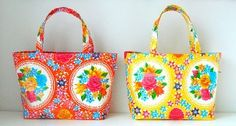 elisanna: happy 2012 * geel en oranje * give away Sewing Lessons, Sewing Class, Love Sewing, Sewing Hacks, Sewing Projects, Diy Bags Purses, Textiles, Little Bag, Bag Making